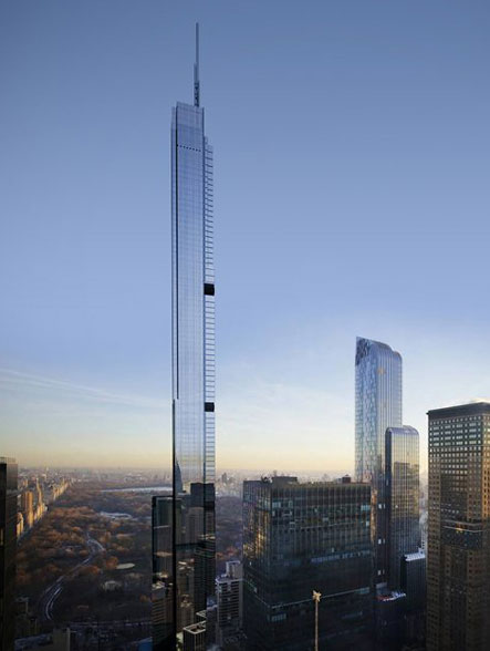 Central Park Tower 225 West 57th Street Condo