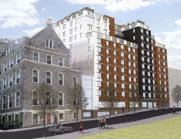 Castle Gardens Opens At 625 West 140th Street Cityrealty